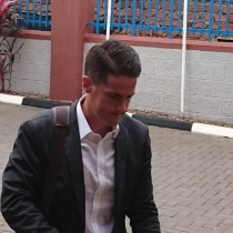 Uganda Cranes new coach Johnny Mckinstry